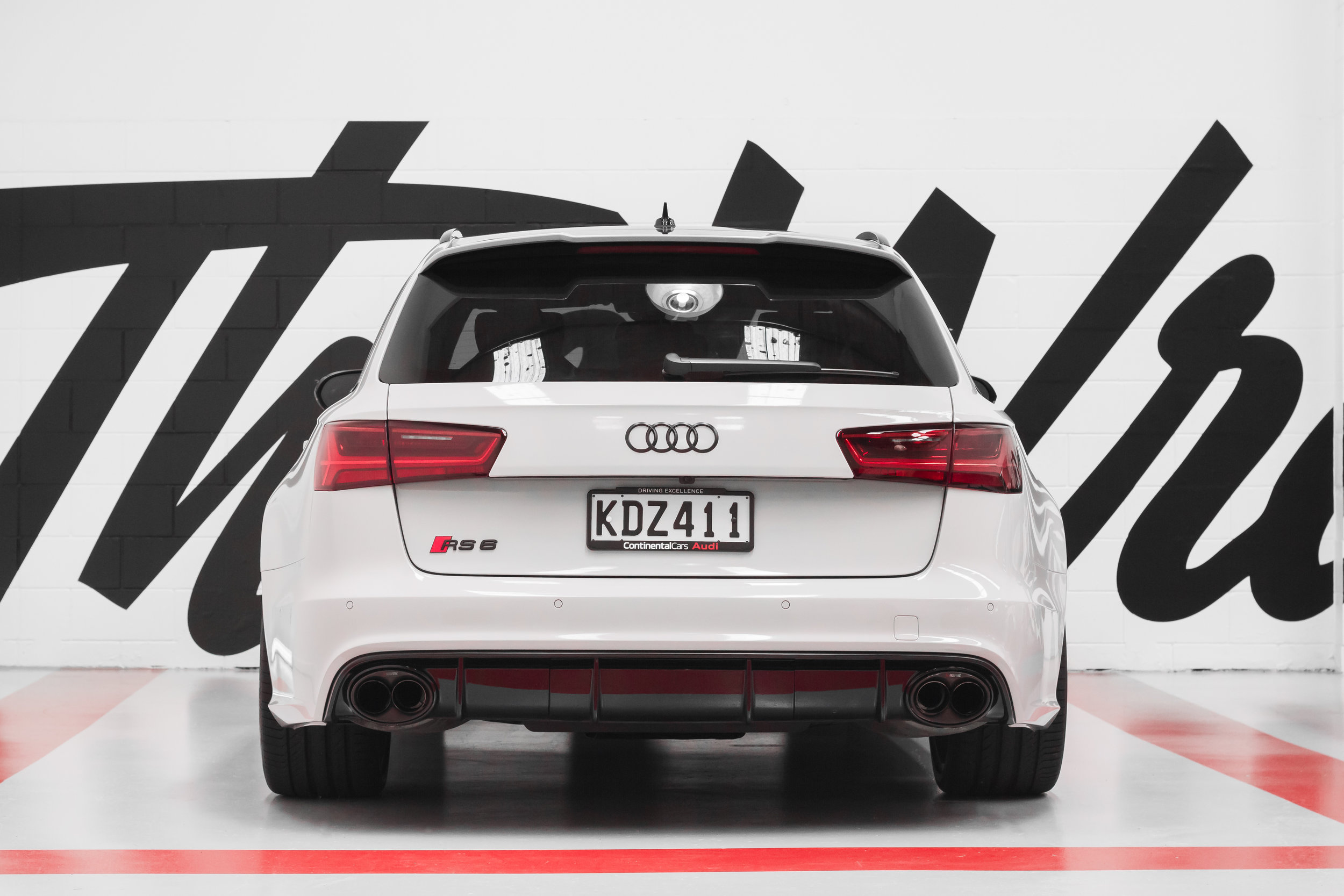 RS6 rear bumper