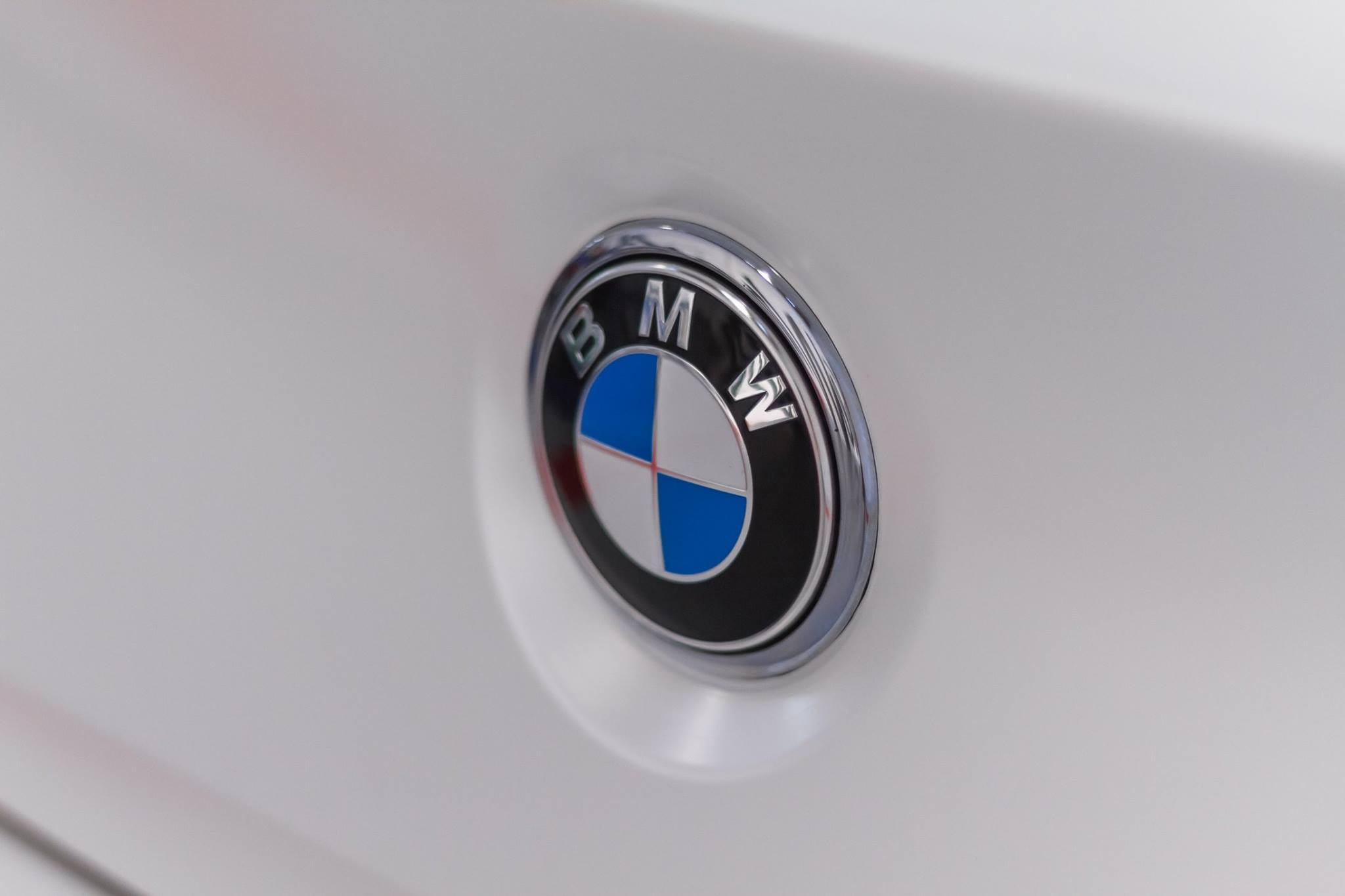 BMW 640D badge