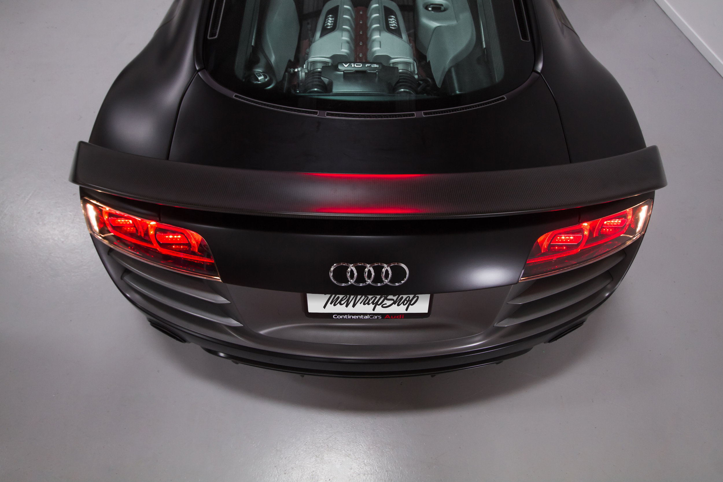 Audi R8 Back Engine bay