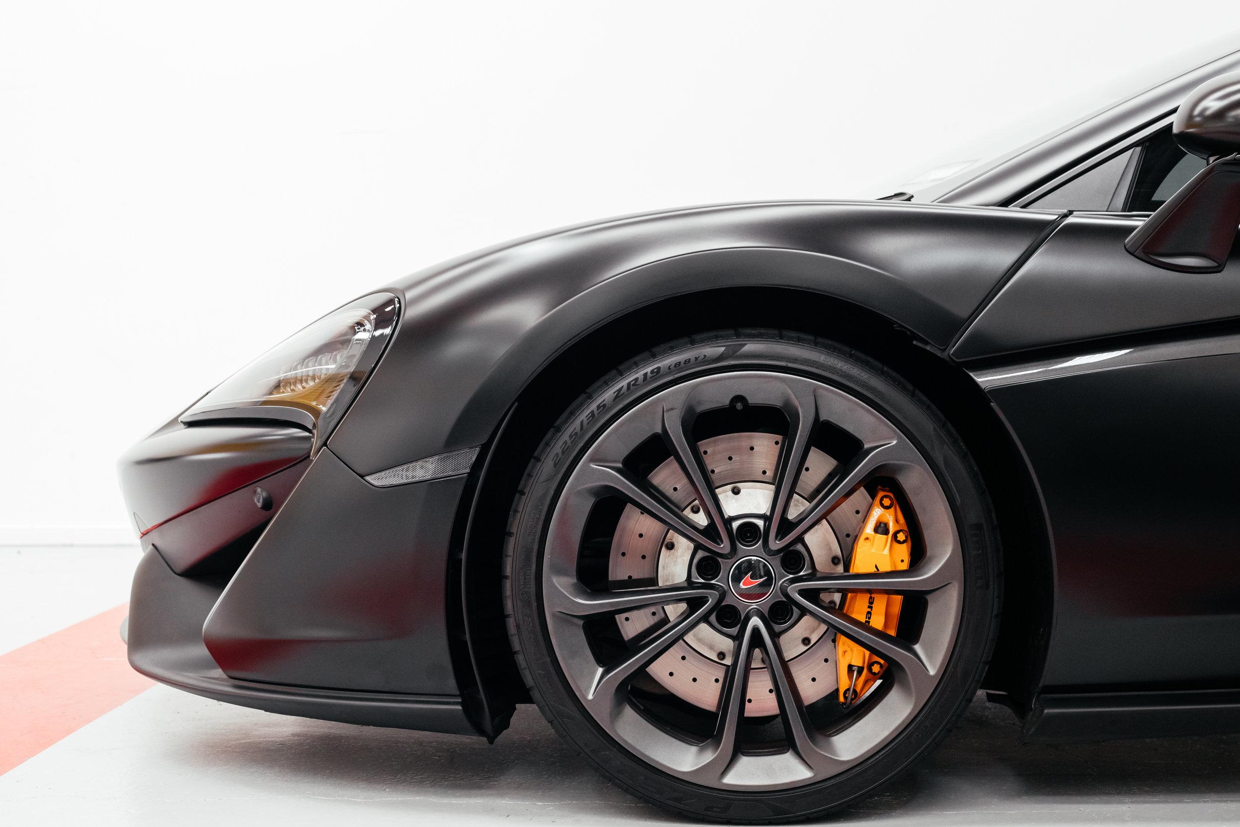 wrapped McLaren