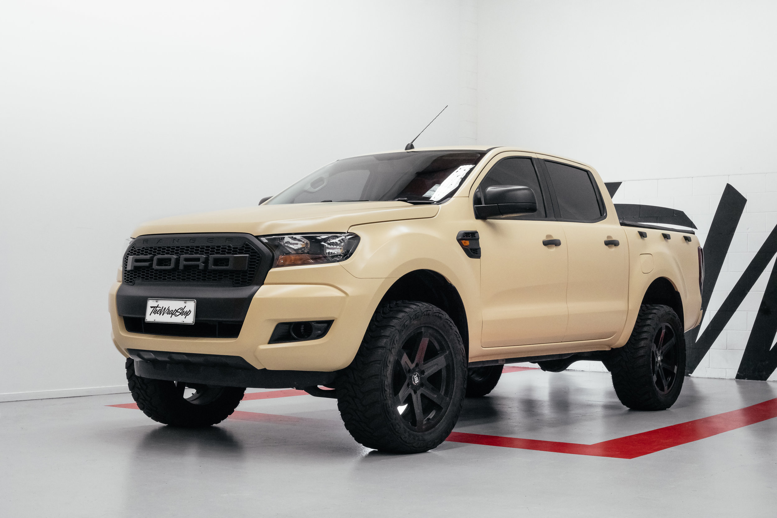 Wrapped Ford Ranger NZ