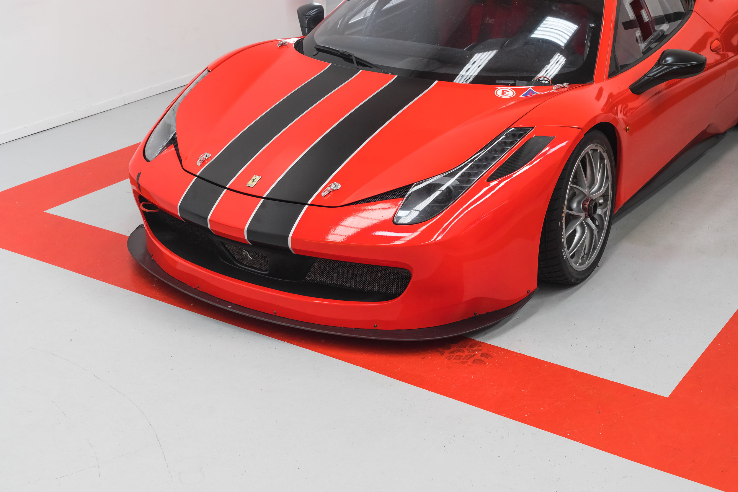 Ferrari Racing Stripes