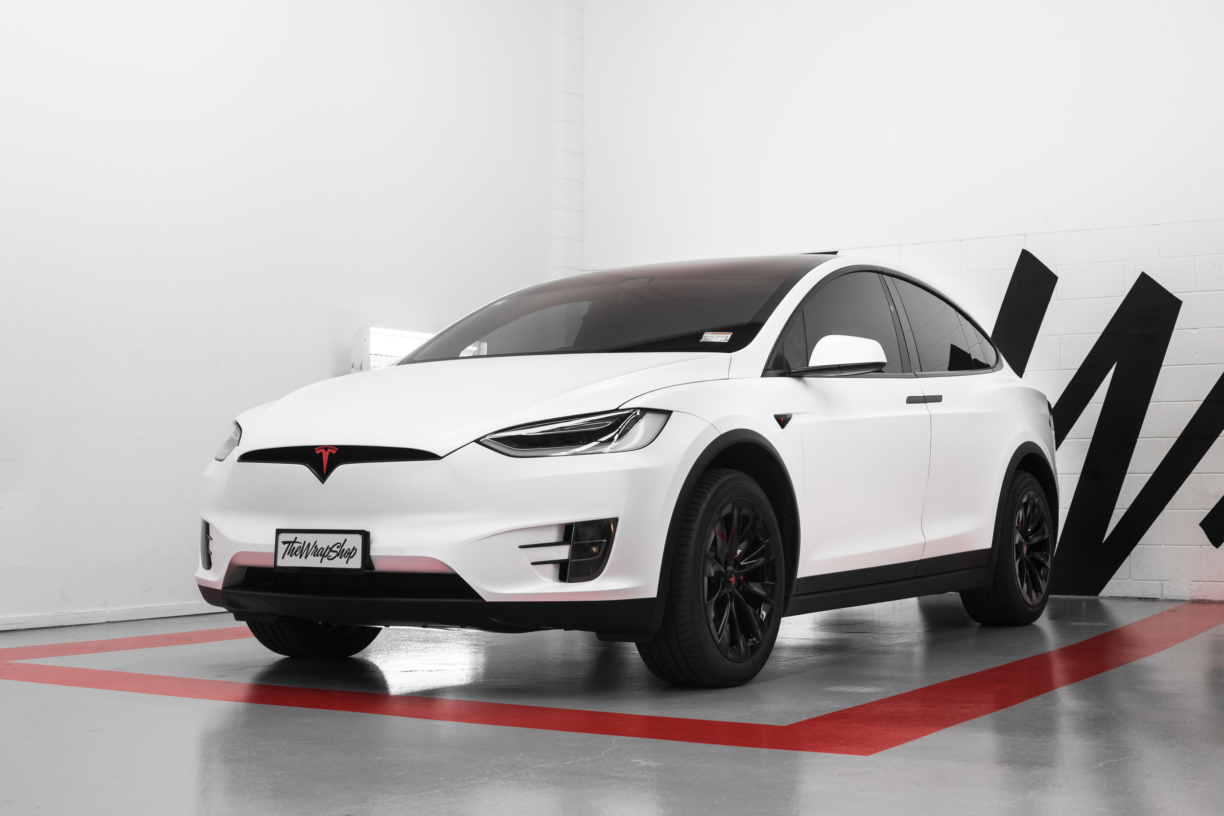 Tesla Model X Paint Protection Film