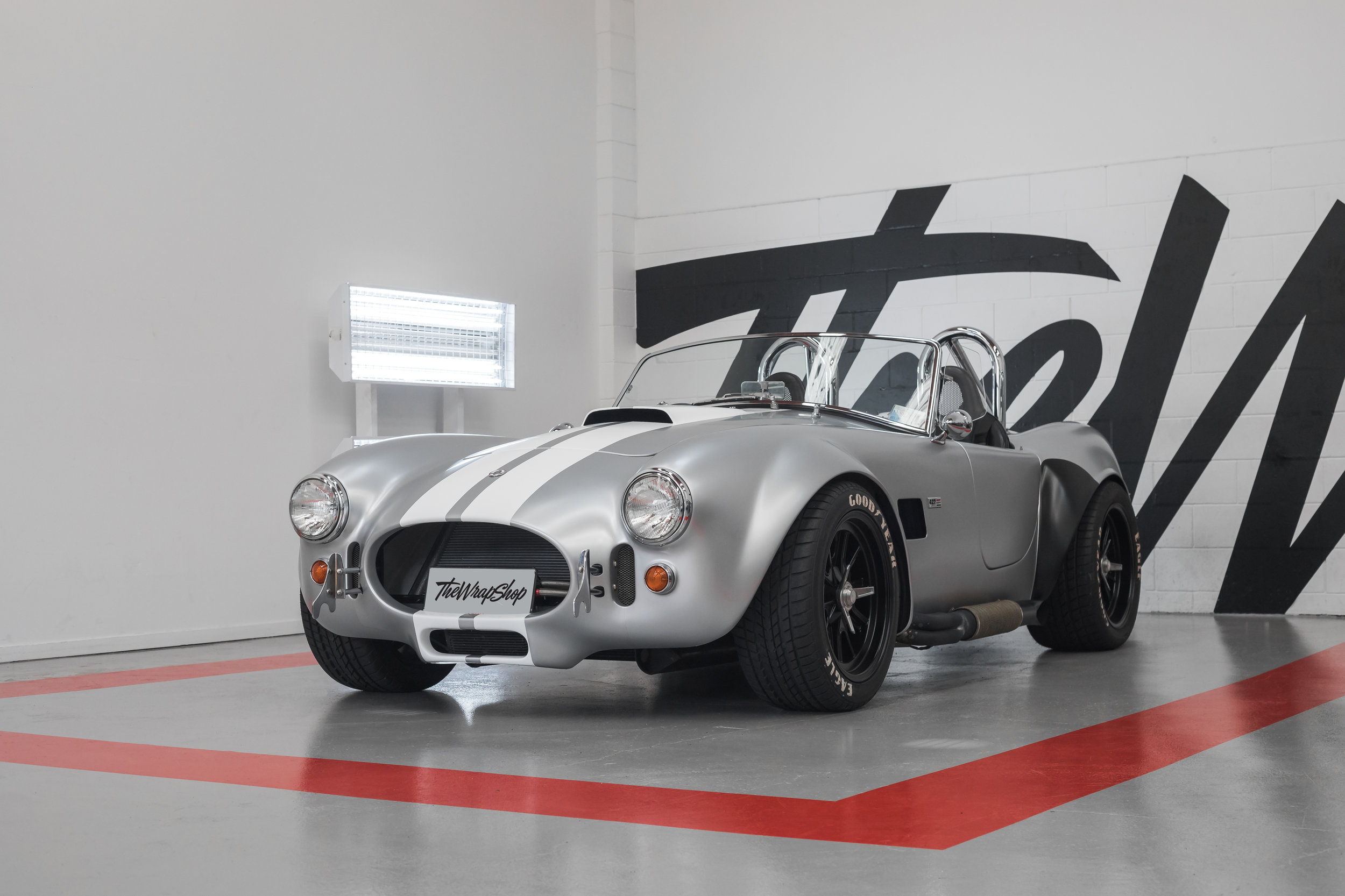 AC Cobra Wrapped Silver