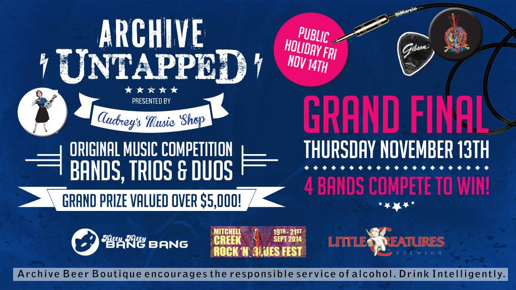 Archive Untapped Band Comp Grand Final
