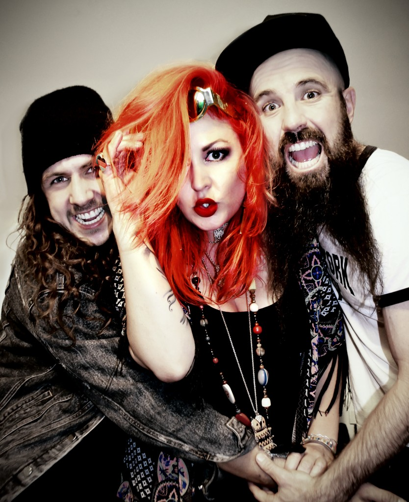 From left:  Josh Eales (drums); Dallas Frasca (vocals, guitar); and Jeff Curran (guitar). Picture provided.