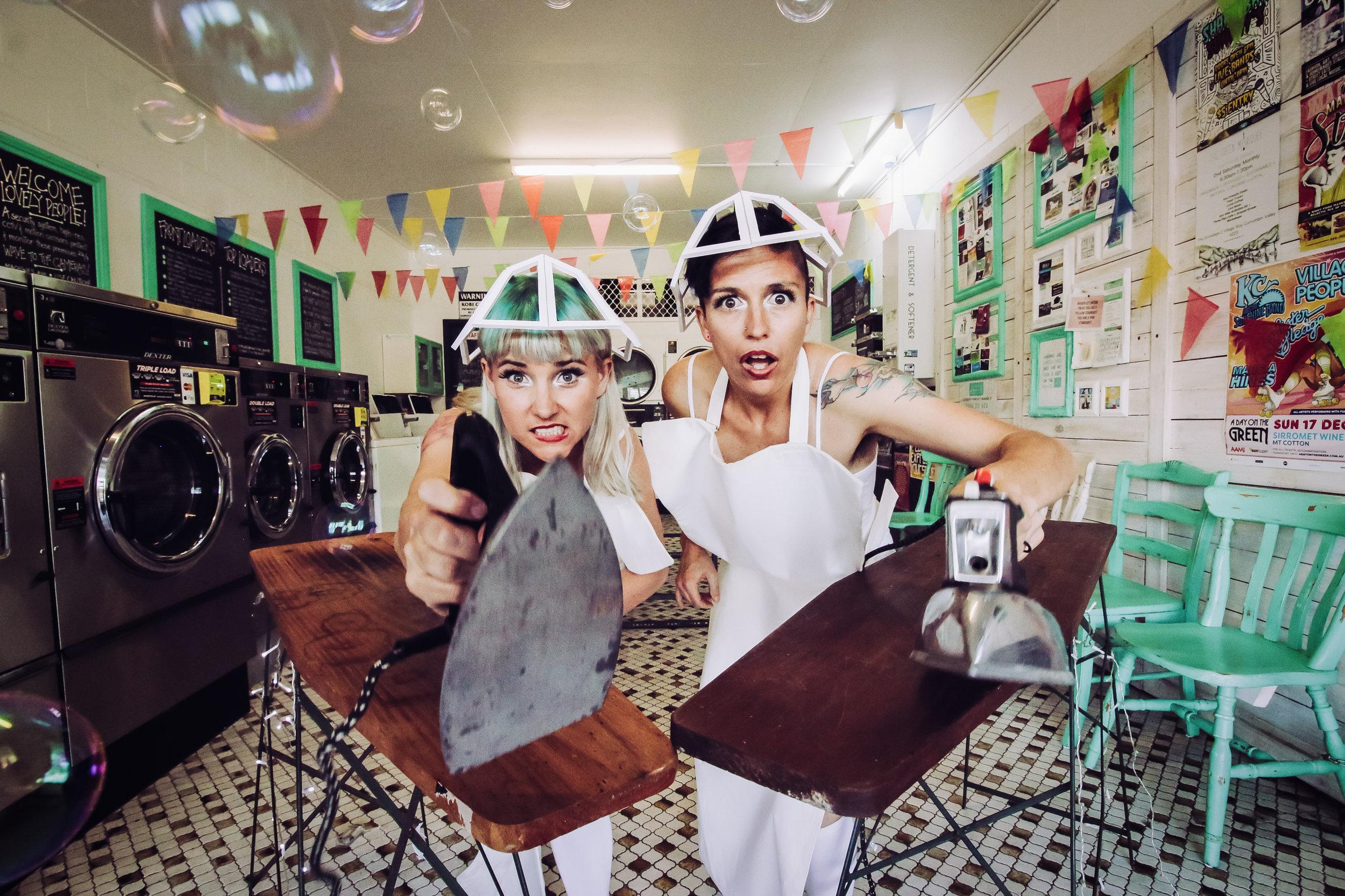 Ironing Maidens Press Pic by Polly Snowden | Kitty Kitty Bang Bang (2 of 4).jpg