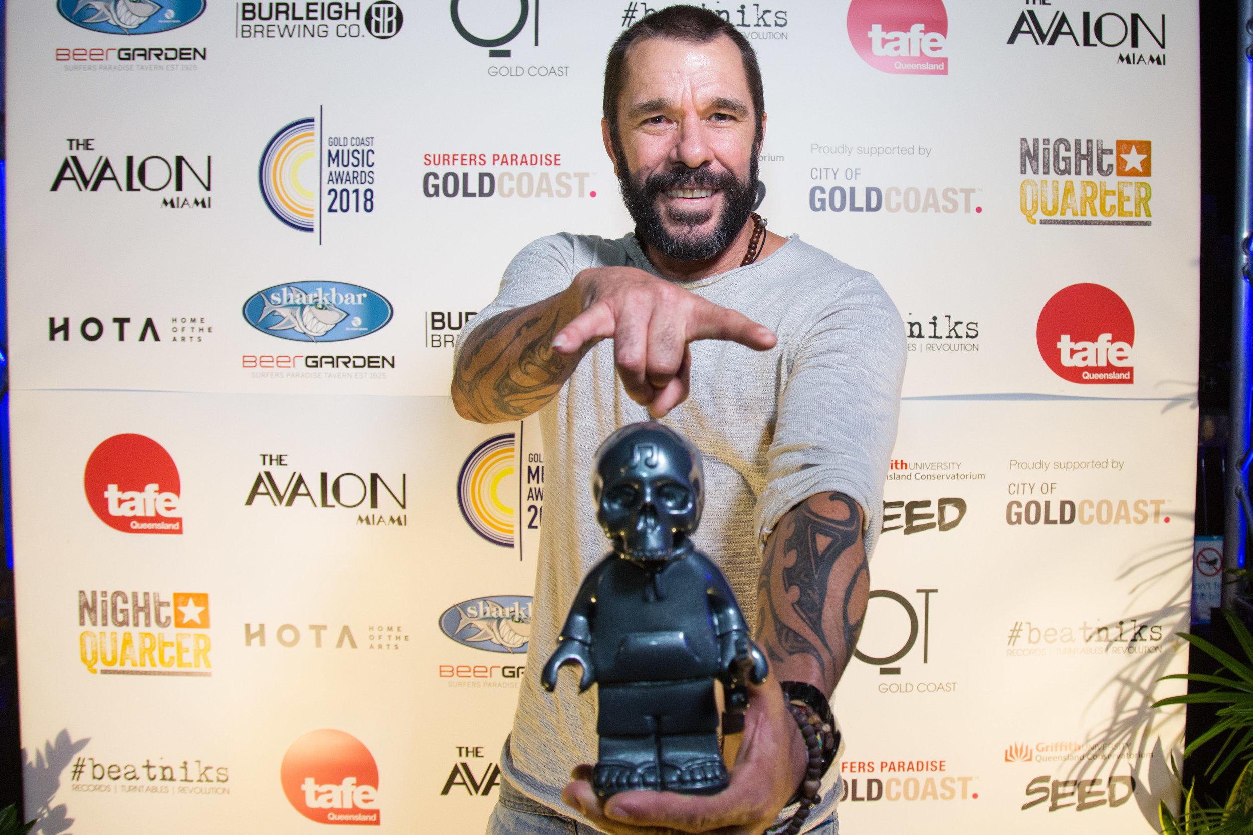 Mason Rack, 2018 Winner Gold Coast Live Act of the Year.