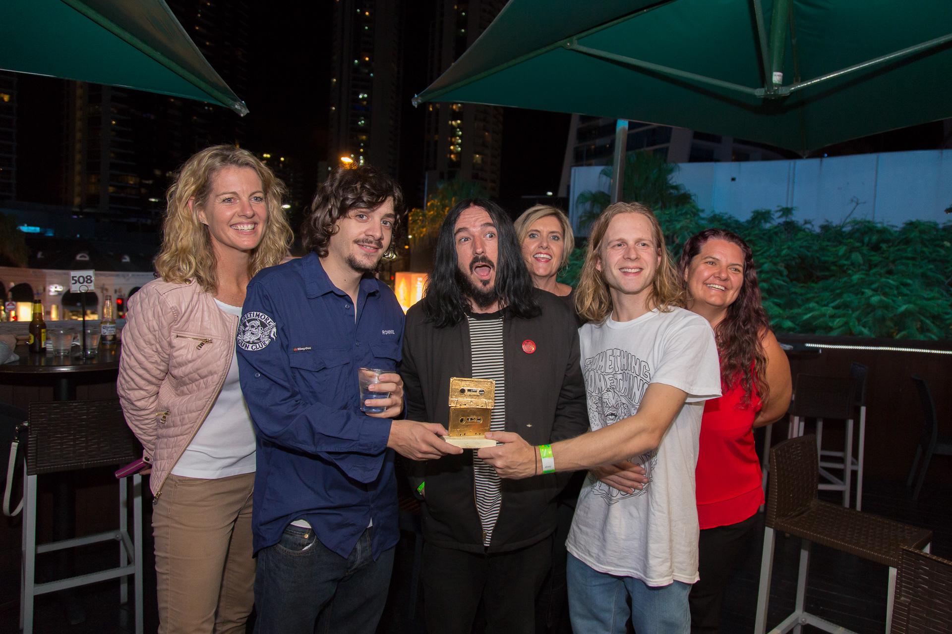 2018 Gold Coast Music Award People's Choice Winners Baltimore Gun Club by Hannan Paul