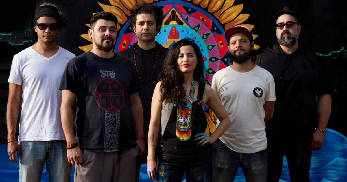 AMARU TRIBE   Strings, skin and electronic waves hold together this global tribe whom align with the Australian land. Nominated for 'Best Roots and World Music Album' at The Age Music Awards in 2017 for their self-titled debut album, Amaru Tribe's popularity continues to rise with appearances at festivals around the country.