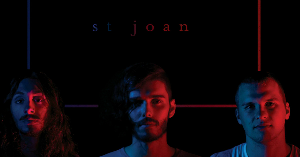ST JOAN   Drawing influence from the story-telling of Jeff Buckley and sinister melodies of Radiohead, Sydney trio St Joan fuse psychadelia, blues, indie and folk to create vulnerable and dynamic music.