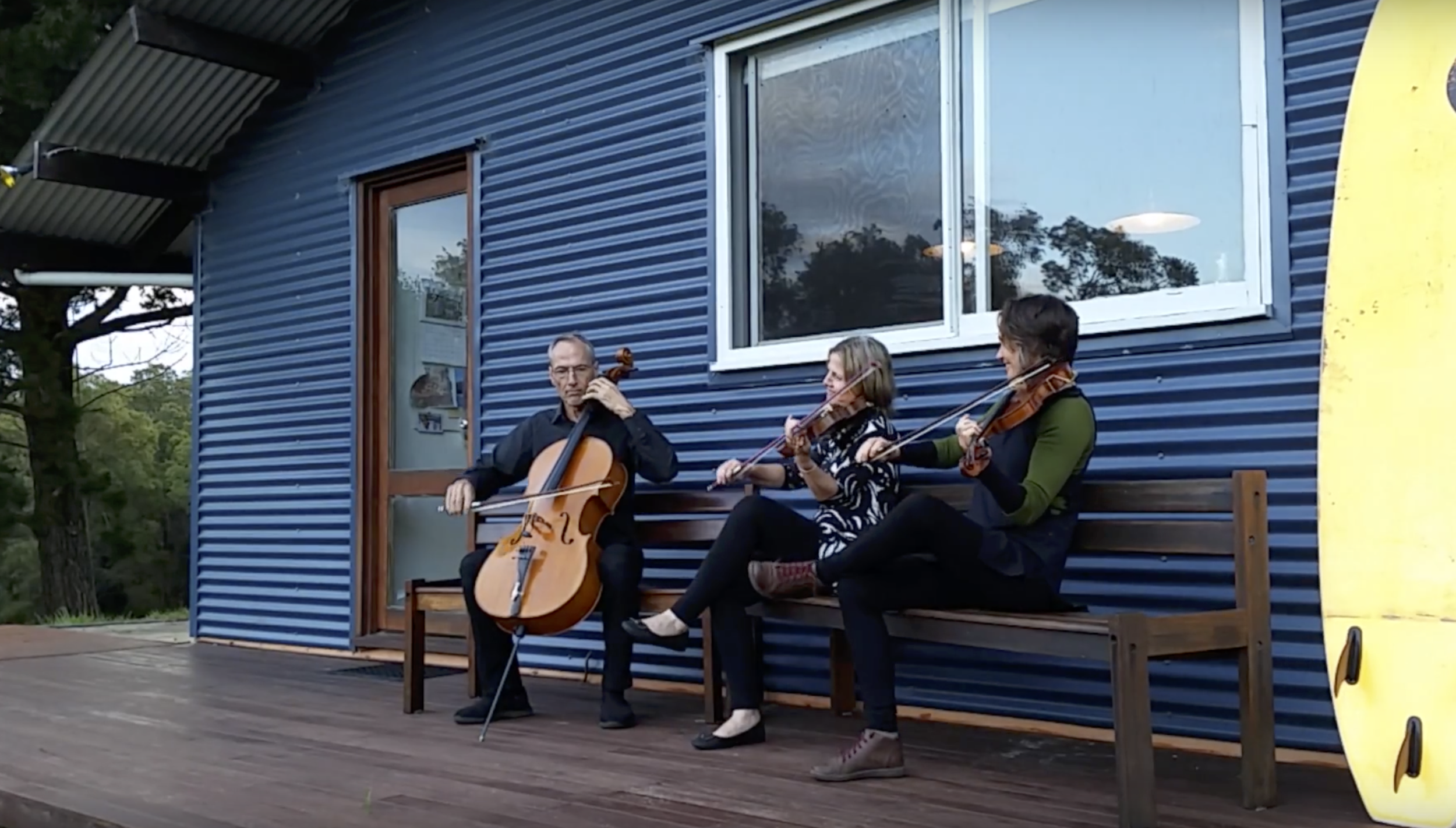 THE DORSAL FINNS (WA)  Dusting snow off their shoulders from a recent visit to Sweden, a trio of fiddle/nyckelharpa/cello play traditional Scandinavian dance music, fit for trolls and Nordic gods.