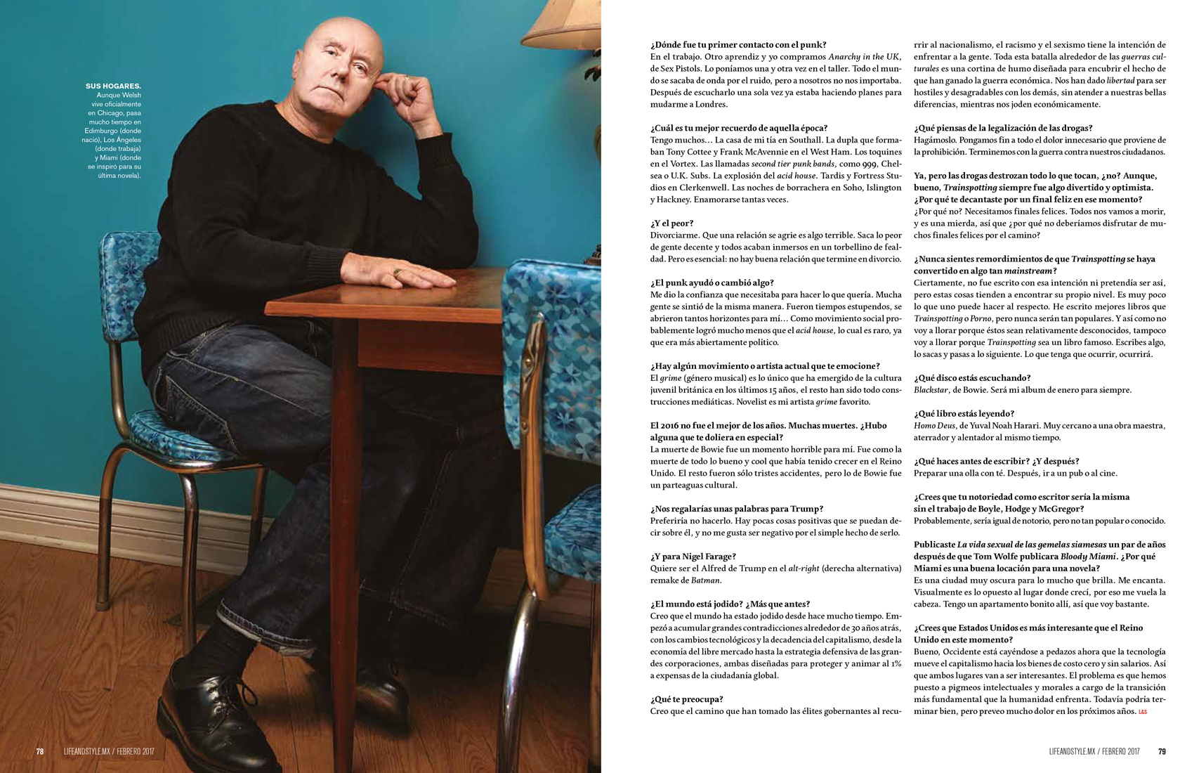 Irvine Welsh - Life&Style