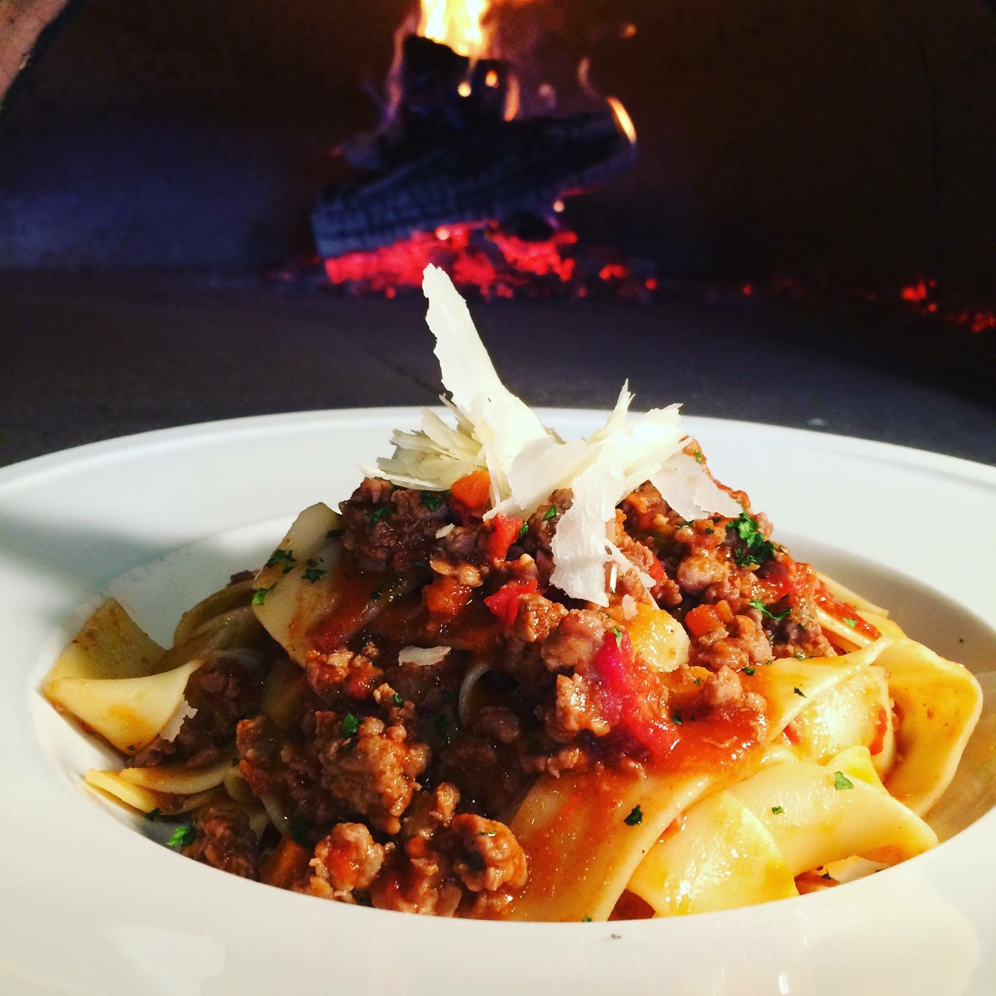 Pappardelle with duck
