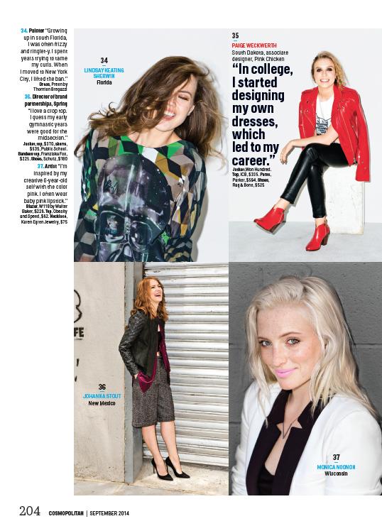 Cosmopolitan Magazine, September Issue 2014