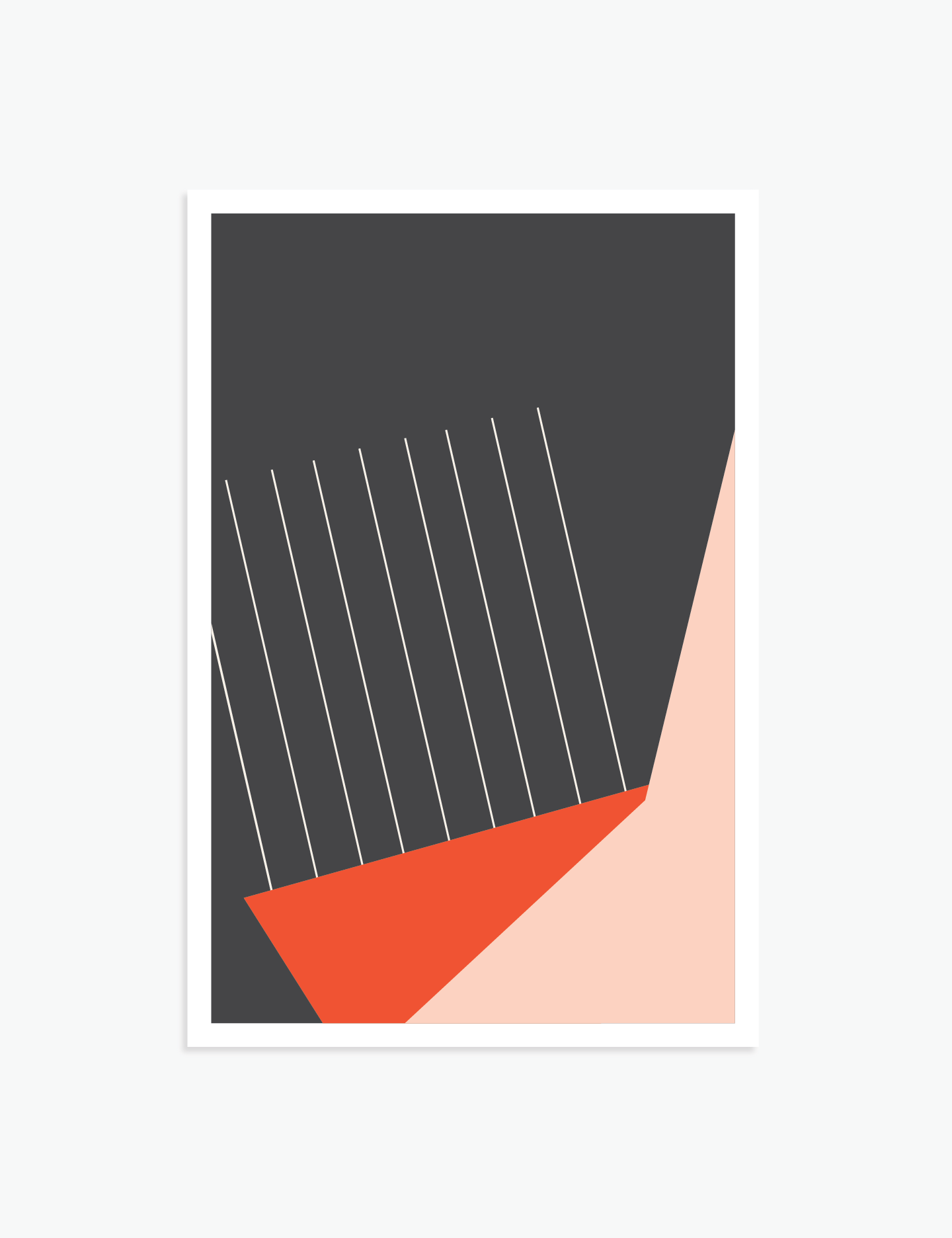 """Out Of Touch   18"""" x 12"""" vector illustration, 2018"""
