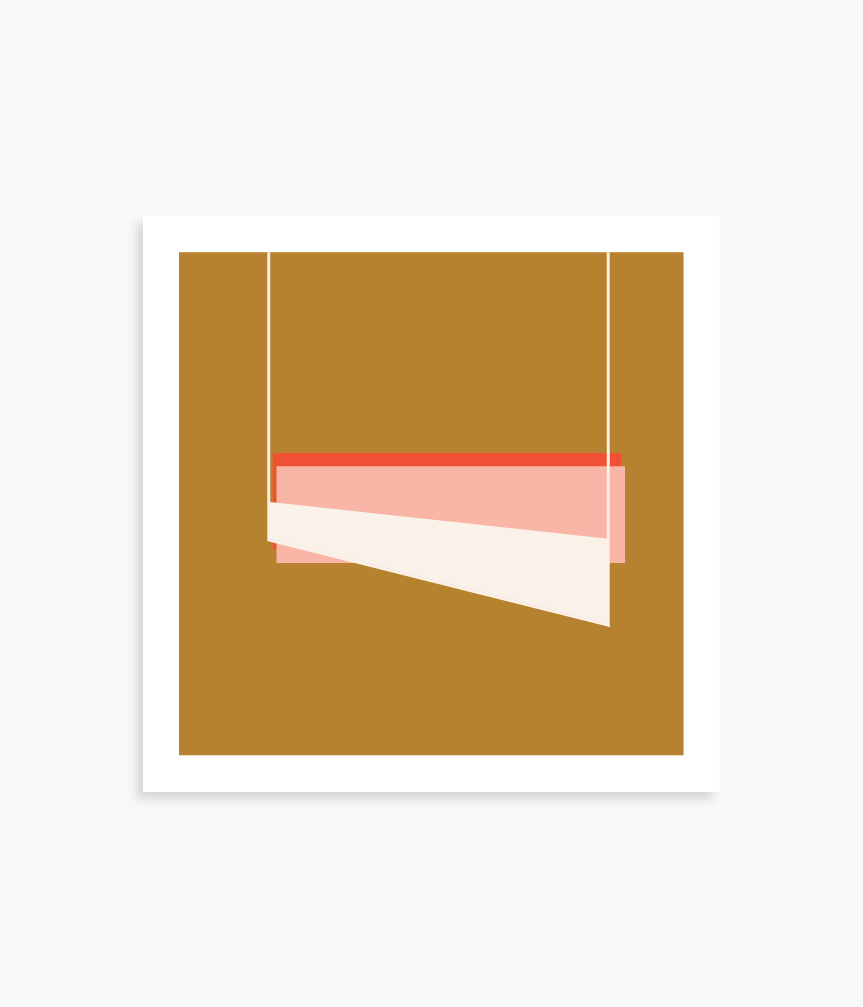 """It Was Left Out   8"""" x 8"""" vector illustration, 2018"""