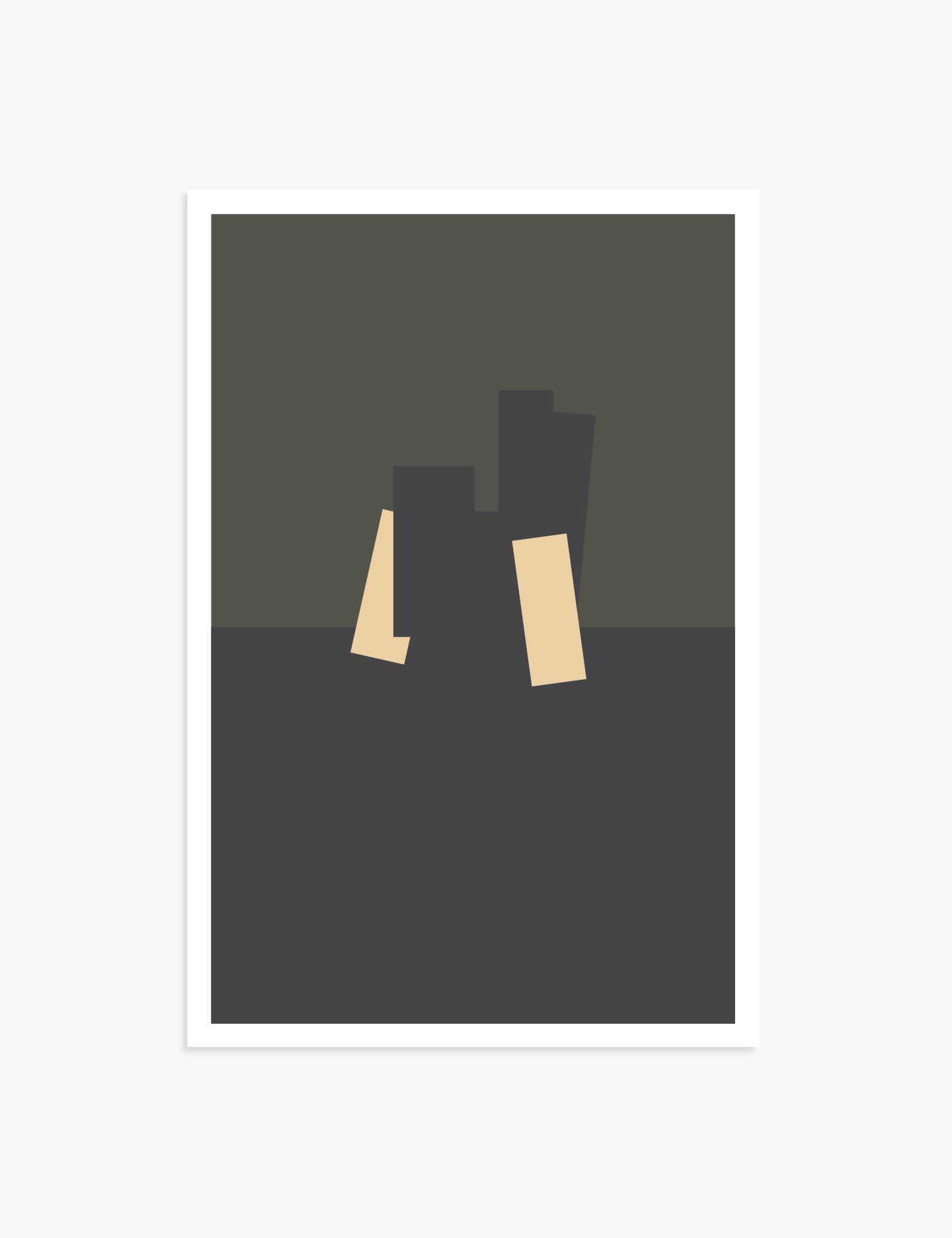 "Well Damn   18"" x 12"" vector illustration, 2018"