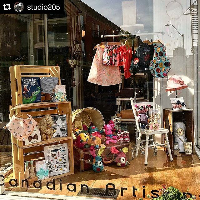 I spy my children's book in the @studio205 window! 😍 Been thinking a lot about illustrating another book!  #Repost @studio205 (@get_repost) ・・・ Window dedicated to the kiddos 👶  #shoplocal #childrens #studio205 #hamont #artist #artisan #hamilton #madeincanada #locallymade #ontario #shopsmall