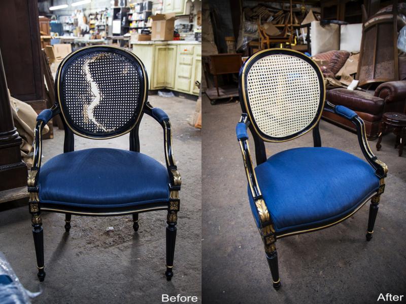 Recaned Chair