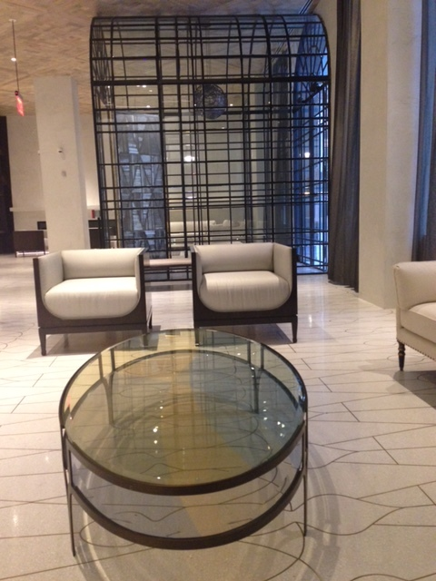 custom built at the marmara park ave on east 32nd street  by Dufine Furniture