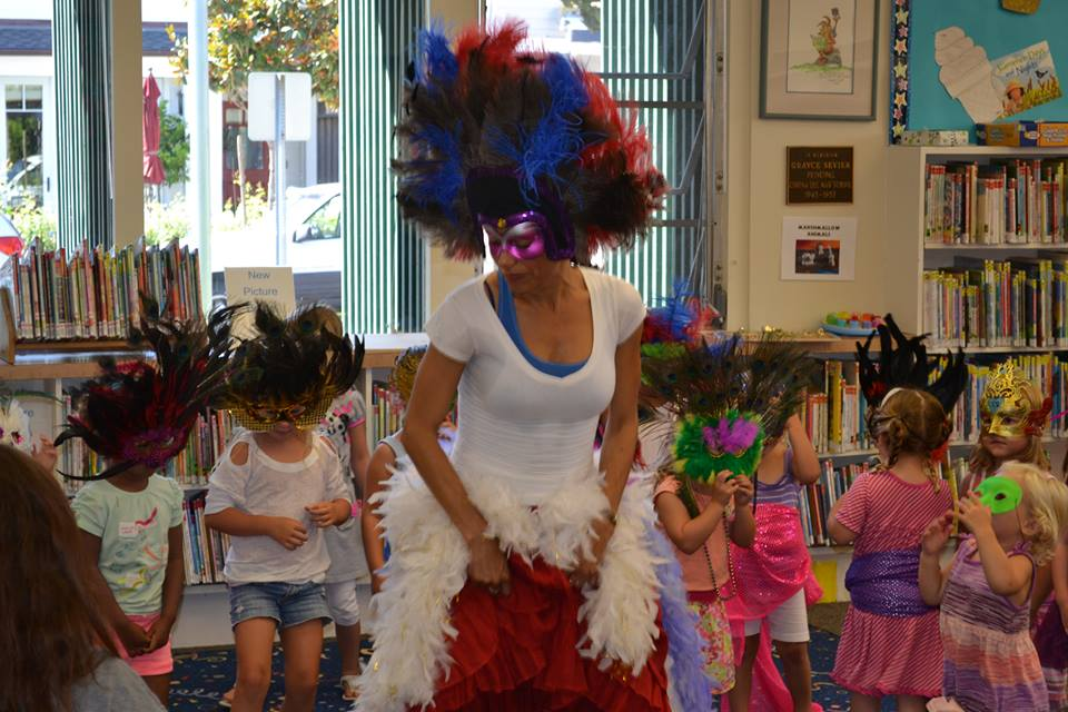 Dancing, creating and playing with the children! Precious moments!