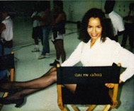 On the Set of the Fox television series M.A.N.T.I.S.