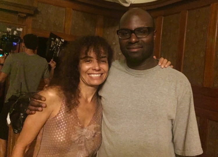"With director Olatunde Osunsanmi on the Set of ""Colony"" I played a Meth addict. An incredible experience."