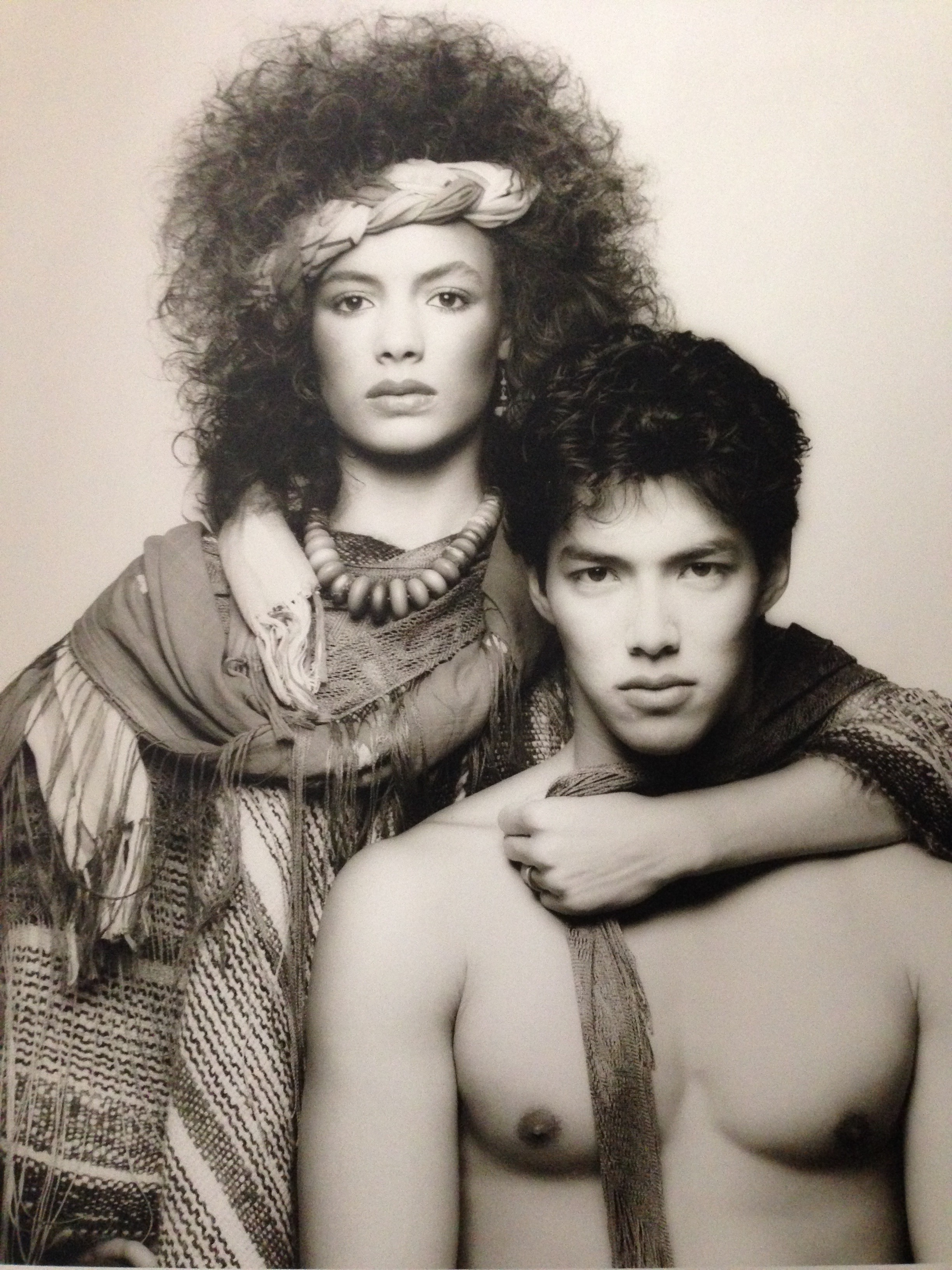 With my dear sweet friend actor/artist Russell Wong