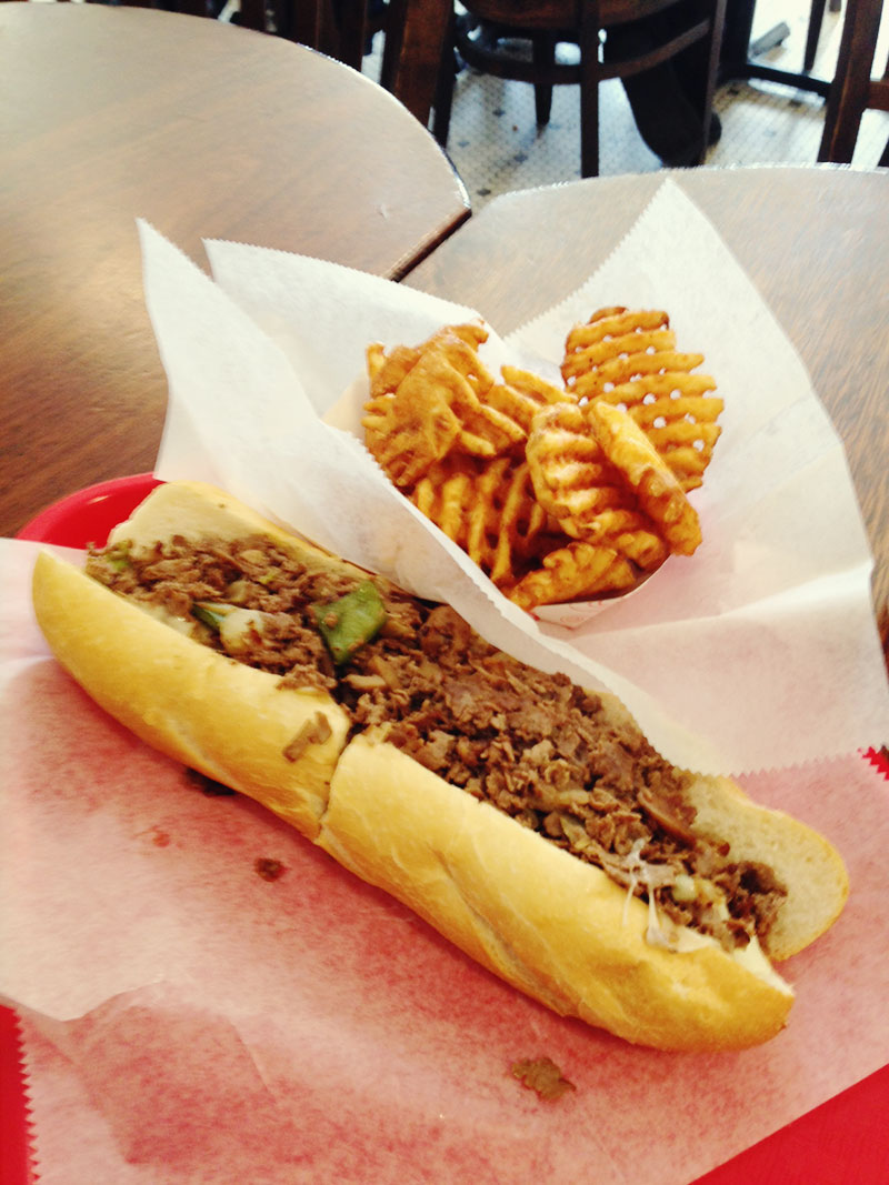 Official Philly Cheese Steak!