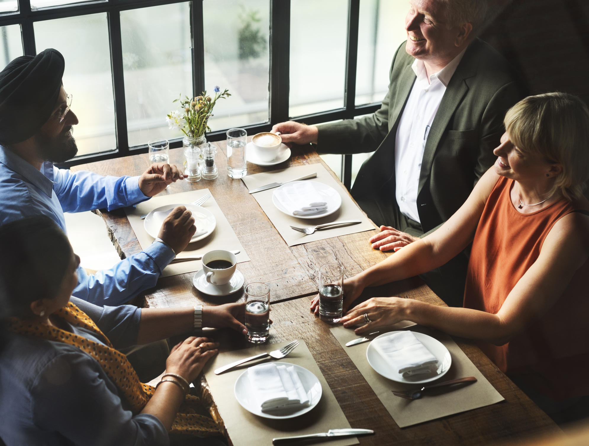 Face-to-Face Trust - Accelerate your business relations through these faciliated group dinners and reap the reward. It often takes years for peer-to-peer relationships to consolidate and experience organic and healthy growth. But with a Dinner Meeting, with the ease of a great meal and facilitated, natural conversation - the window is much more open.