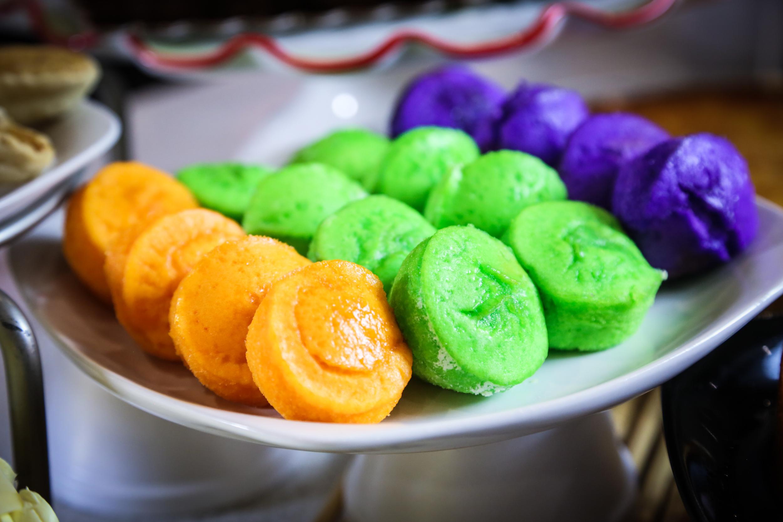 Rainbow Rice Cakes