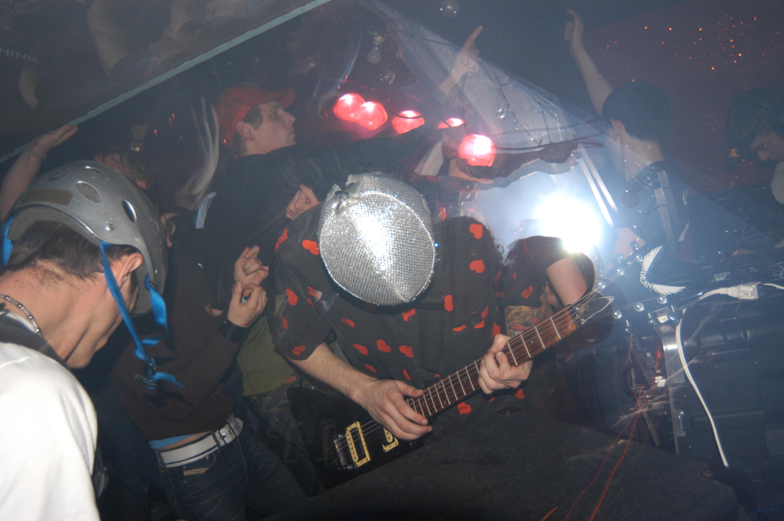 JonnyX and the Groadies @ Basement Show (Portland, Oregon)