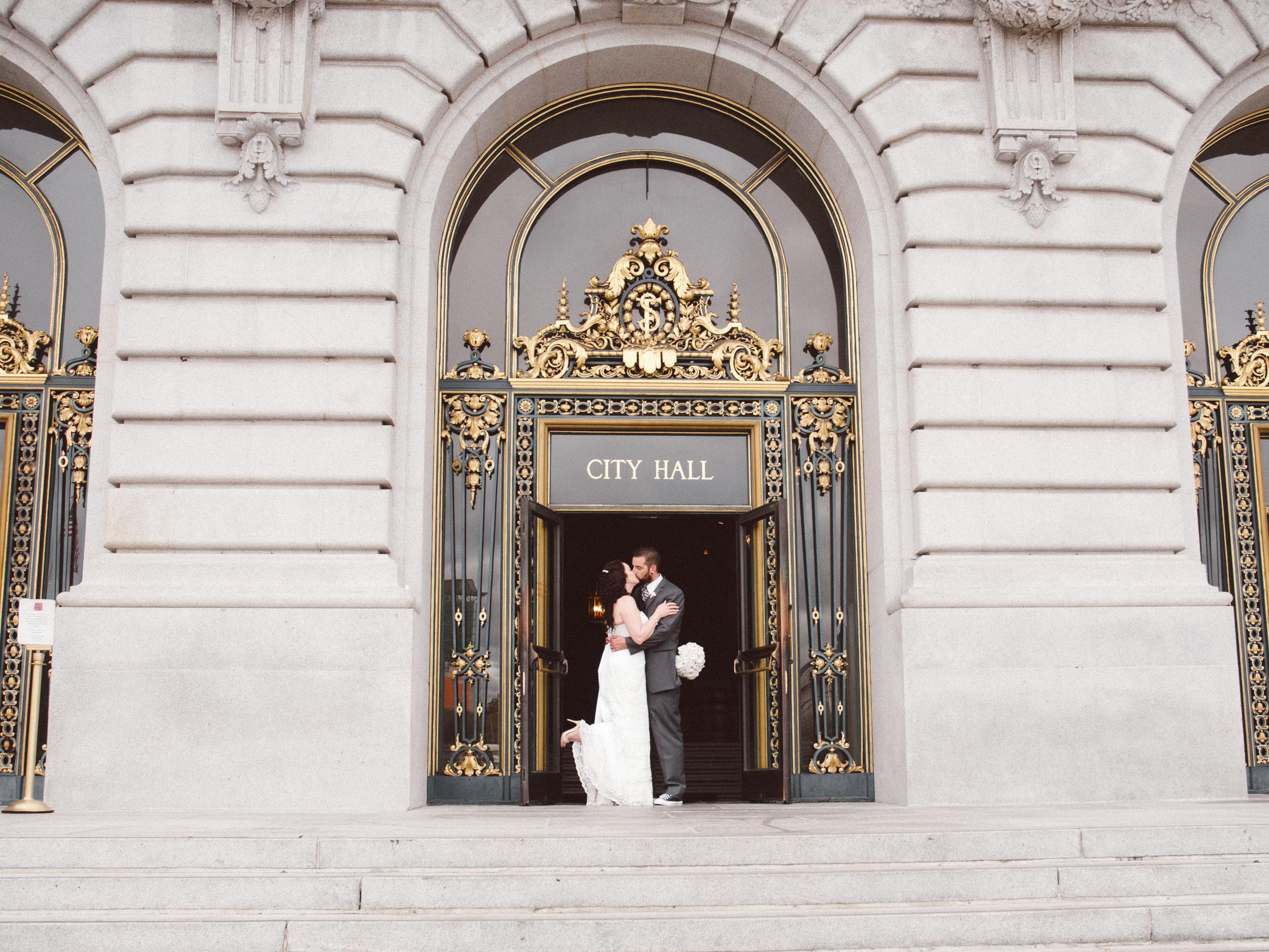 San Francisco City Elopement by Jessica Garmon