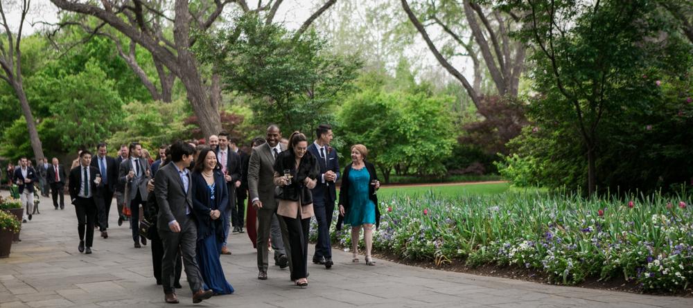 Dallas Arboretum Wedding