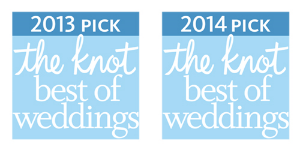 "Recently named to The Knot's ""Best of Weddings"" for the second year in a row!"