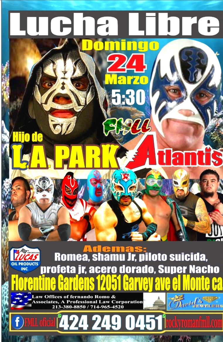No te pierdas este evento danos like en FMLL Oficial evento 100% familiar - (Luchadores sujetos a cambio)