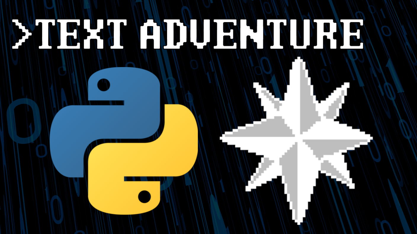 We created a Text Adventure game in Python!