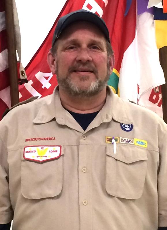 ScoutMaster John Mearman