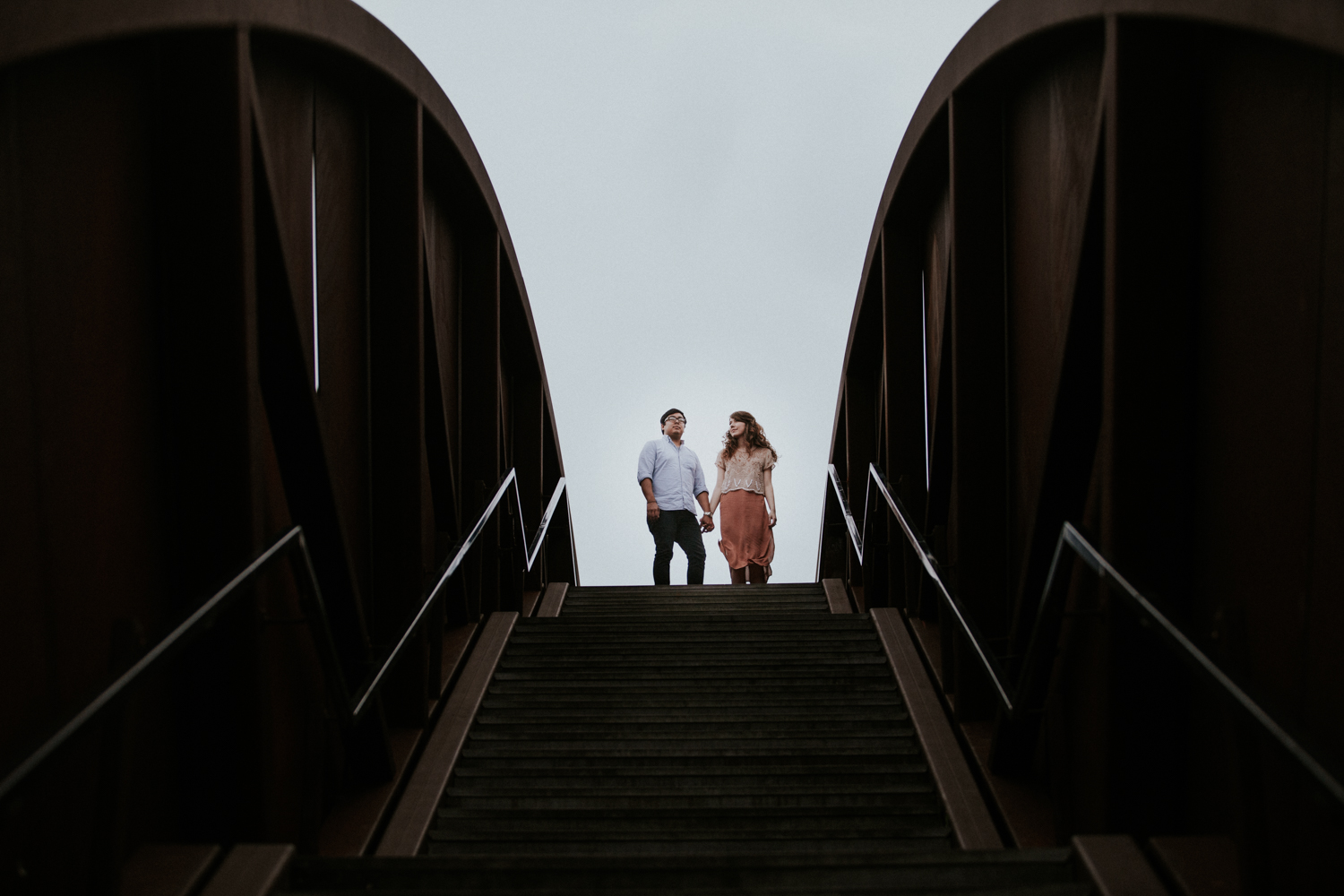 Crescent Park - New Orleans Bywater Engagement | Maria Newman Photography