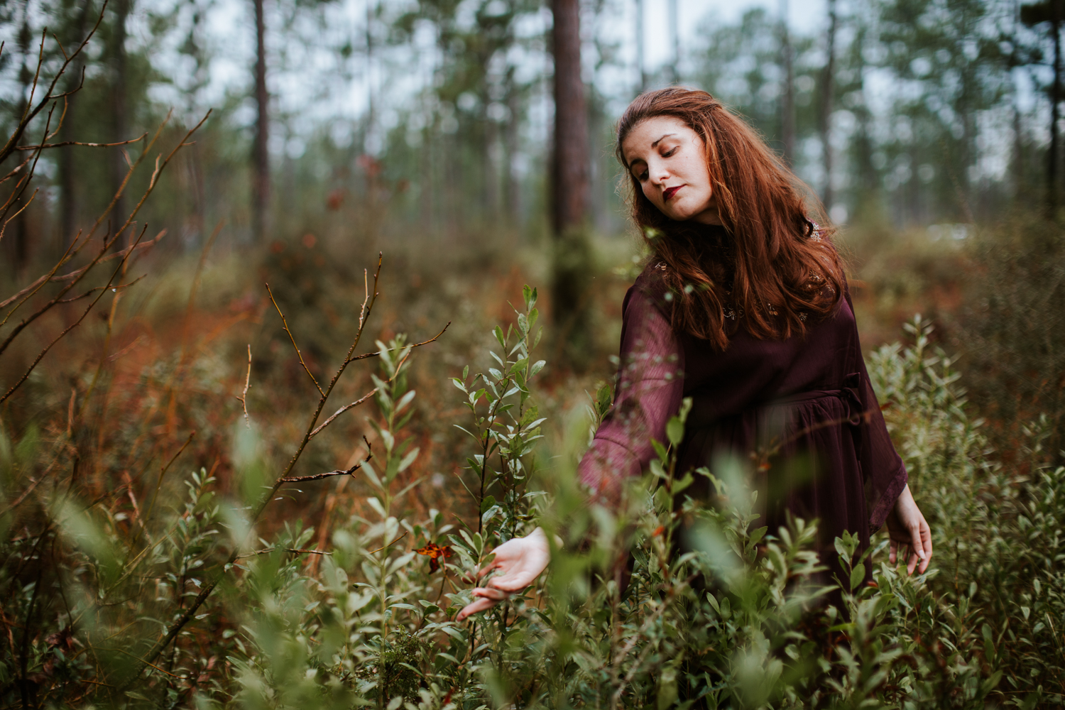 Magical Portrait in the Woods | Maria Newman Photography