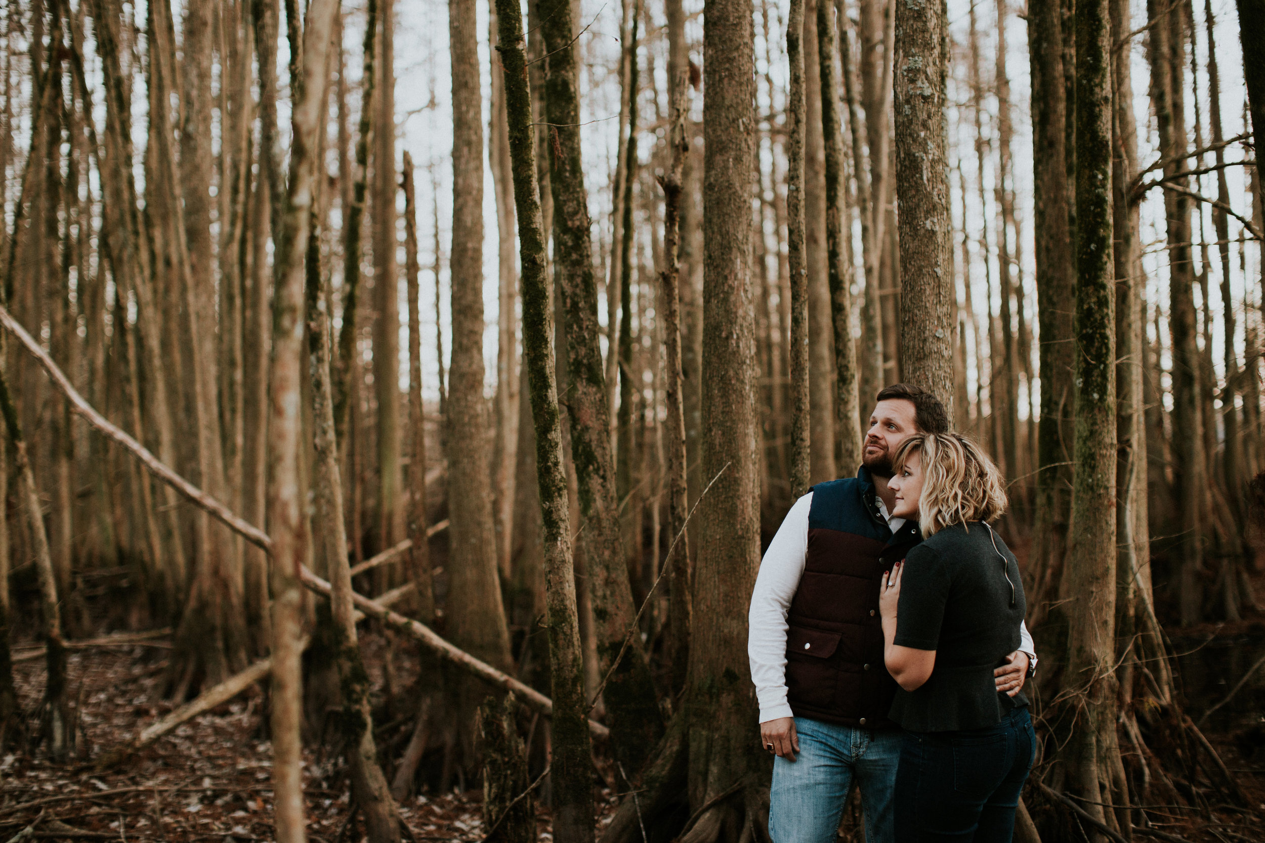 Southern Swamps Engagement | Maria Newman Photography