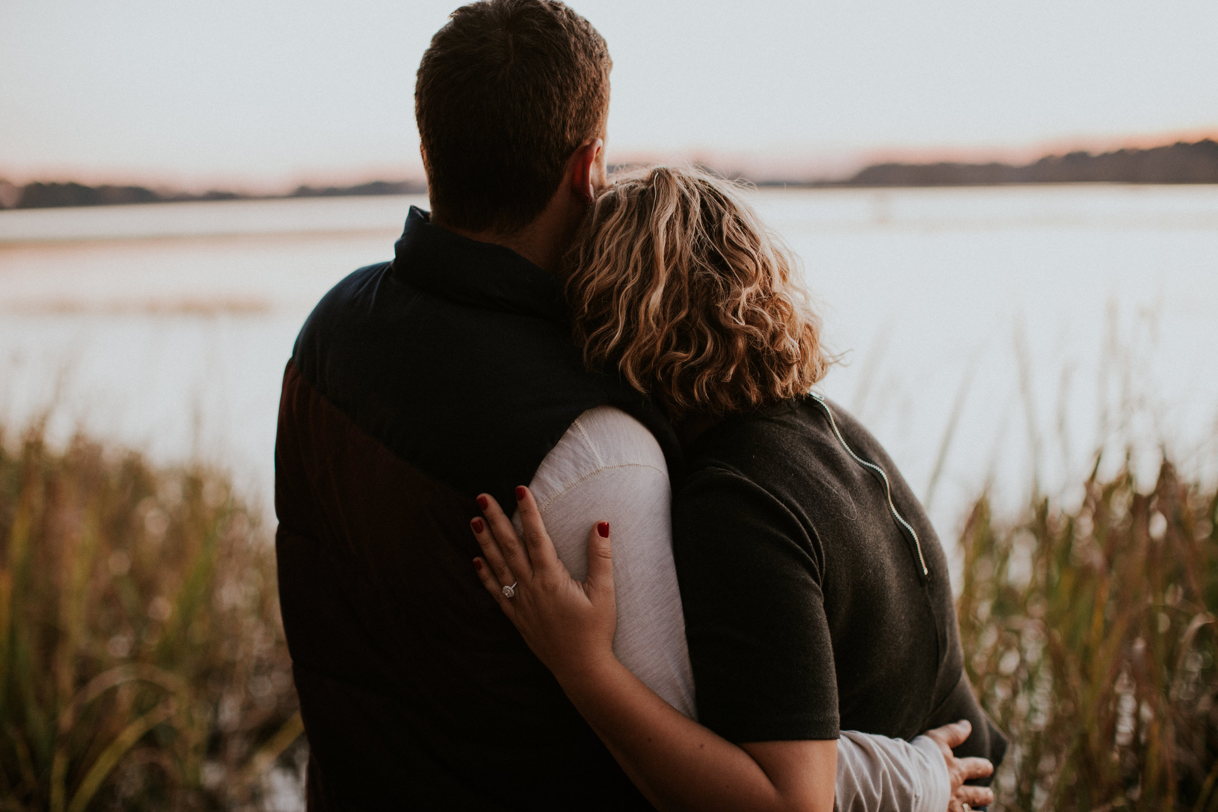 Southern Fall Engagement | Maria Newman Photography