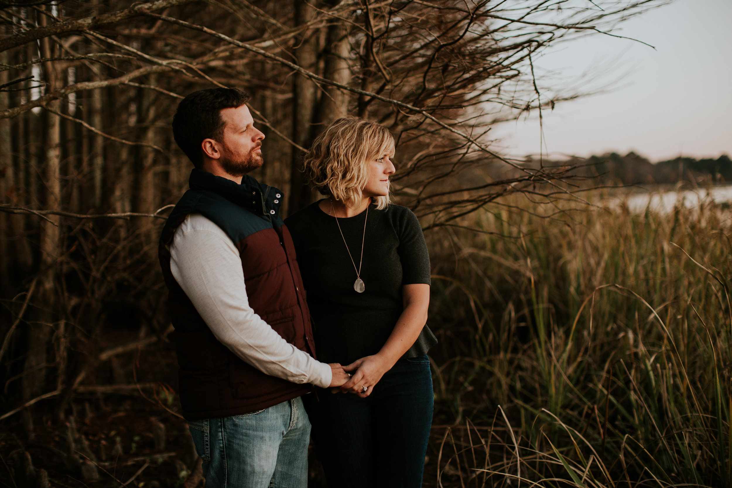 Starkville, Mississippi Fall Engagement | Maria Newman Photography