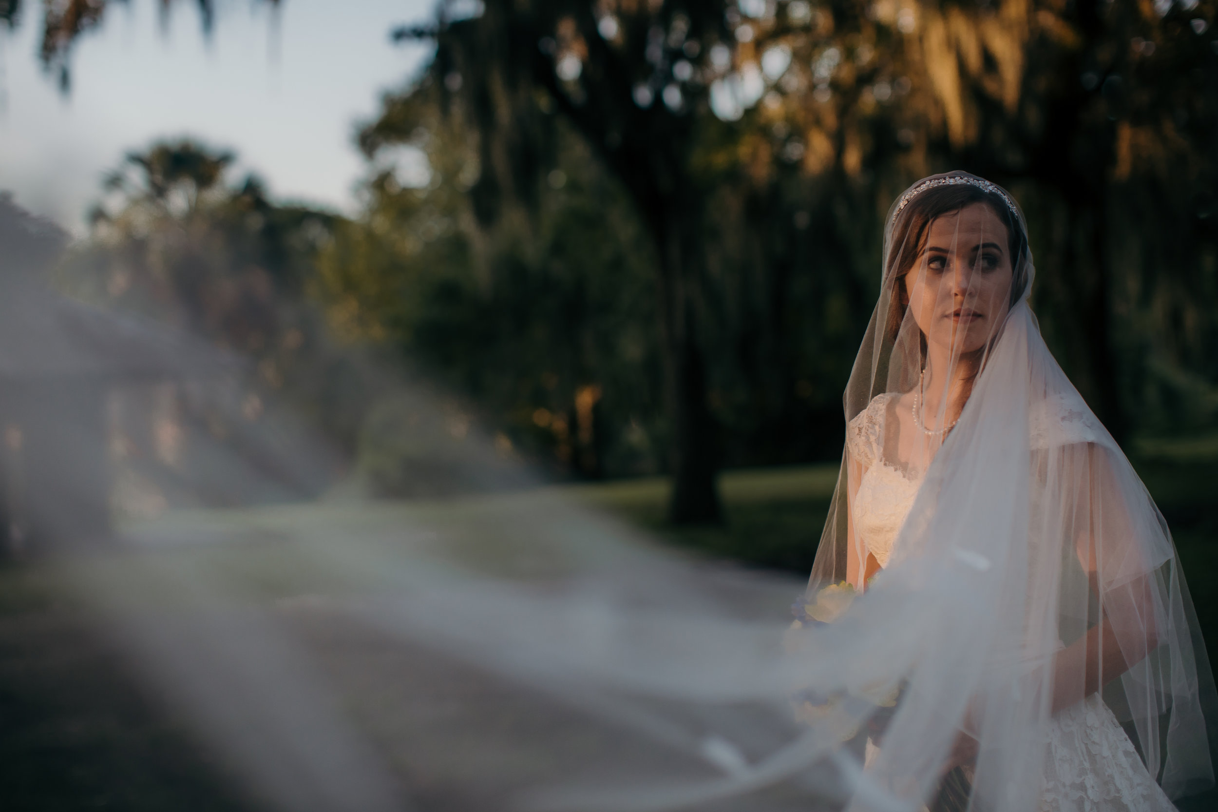 New Orleans City Park Bridal Photography