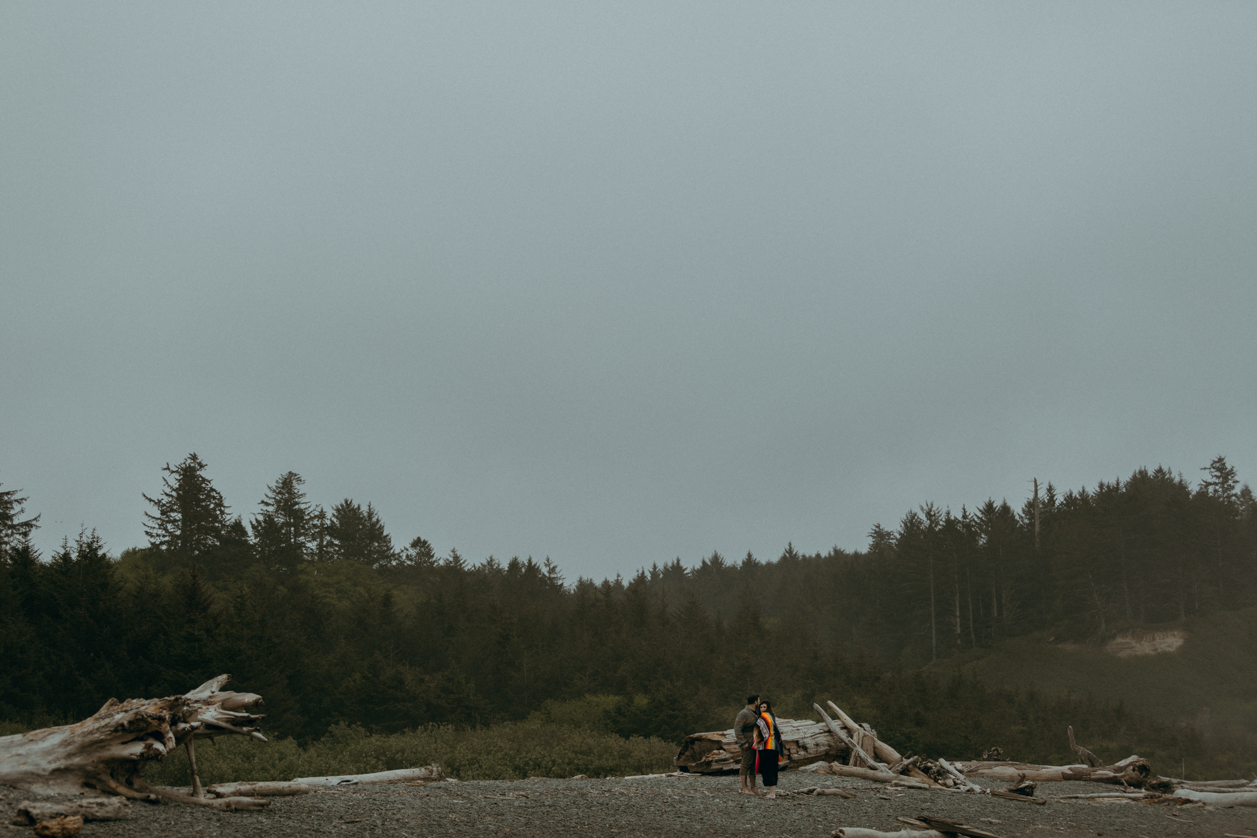 La Push Beach, Washington Engagement Photographer