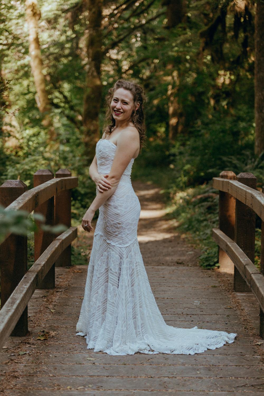 Silver Falls State Park Oregon Wedding