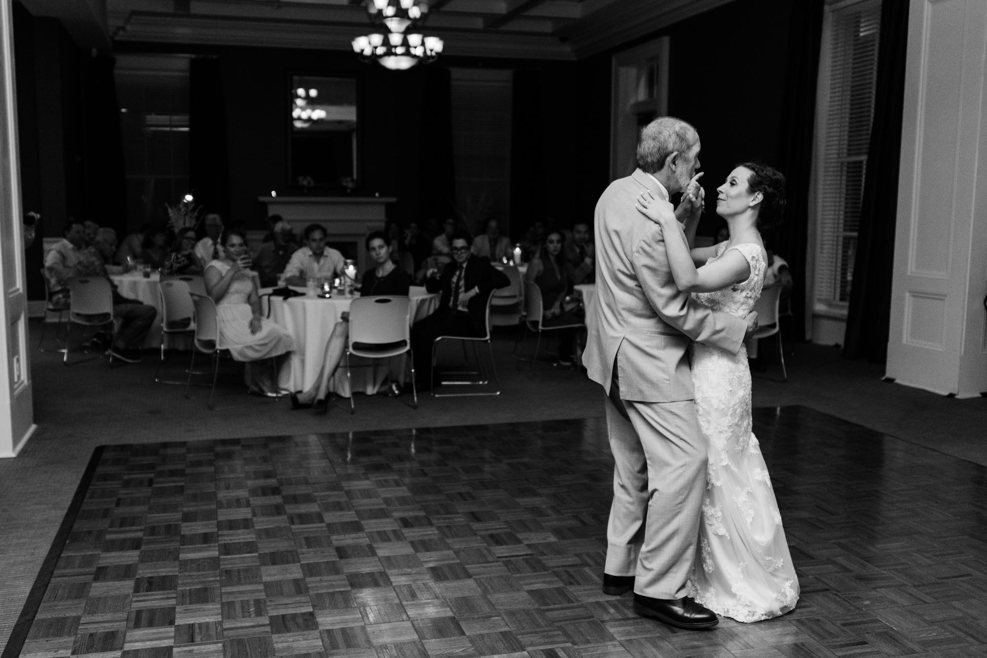 Biloxi visitor's center wedding