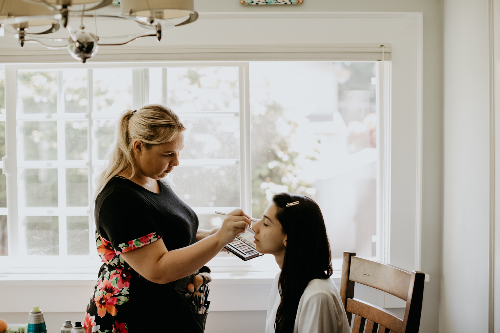 Vancouver, Washington wedding getting ready