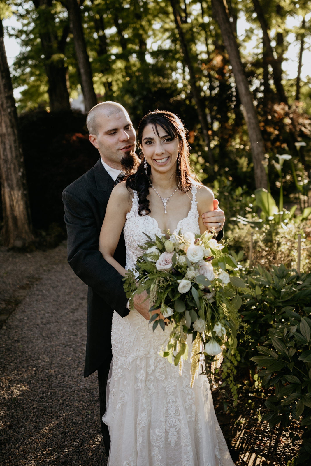 Oregon City Summer Wedding